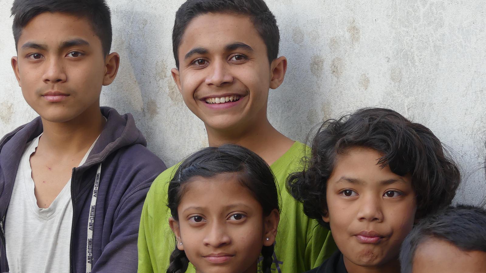 Barn på Beth Eden i 2019