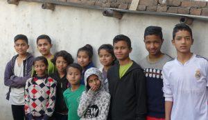 Barna på Beth Eden i 2019