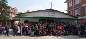Hovedkirken i Kathmandu