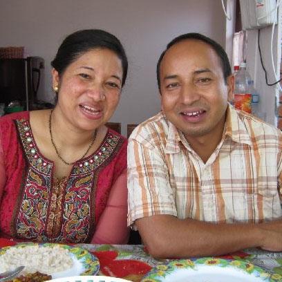 Krishna og kone
